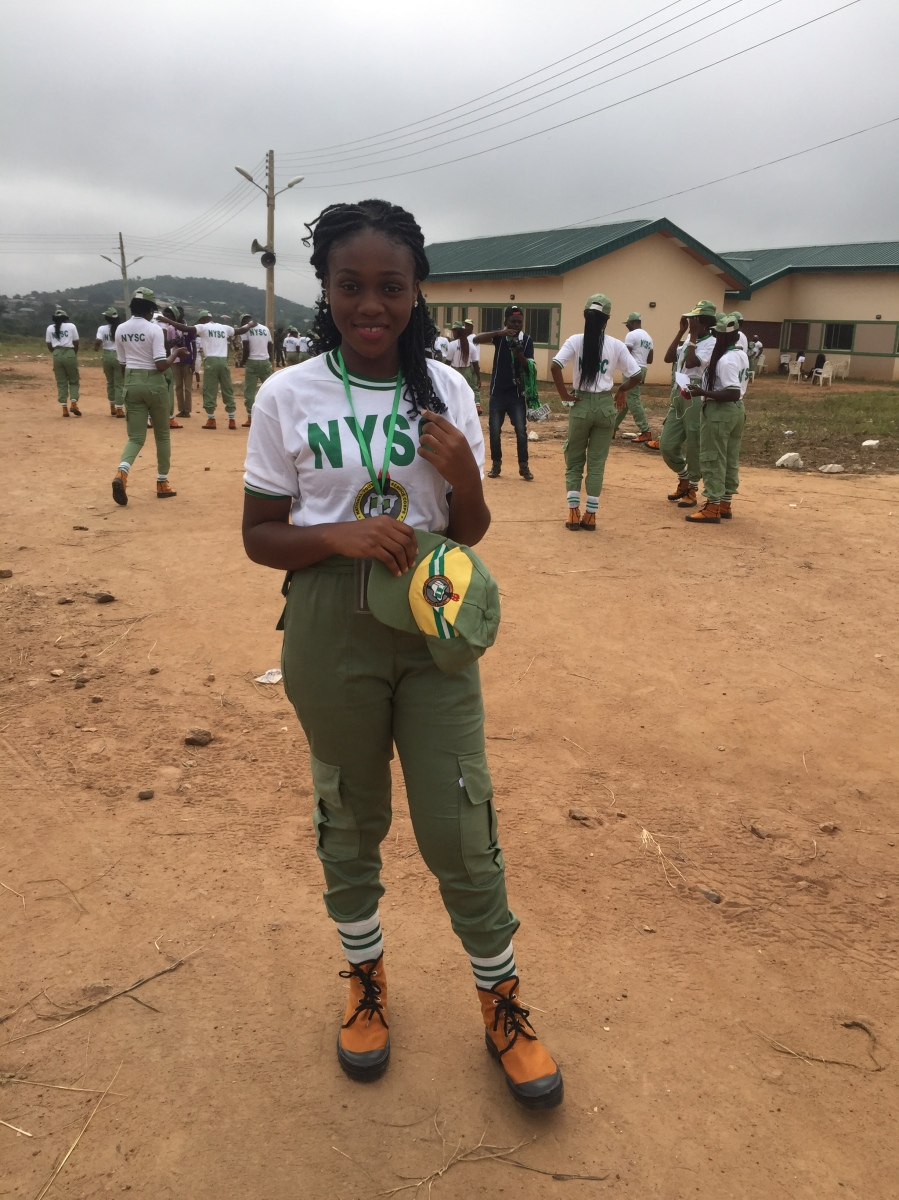 NYSC Diaries (Part 1) - Camp is fun they said -___-